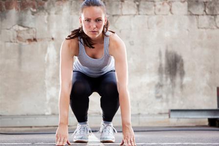 Hockey-inspired cardio circuit training