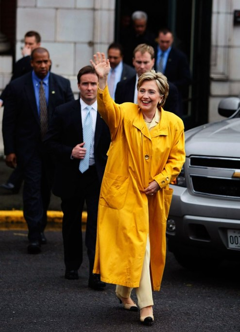 Feminist Fashion Icons: Hillary Clinton