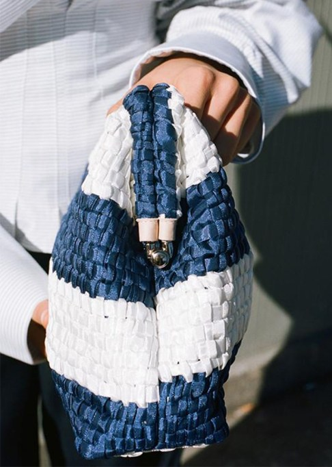 Clutches That Will Actually Hold Your Stuff | Maria La Rosa Vague Fabric Pouch