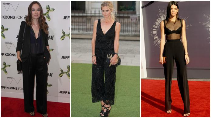 How to wear wide-leg trousers without