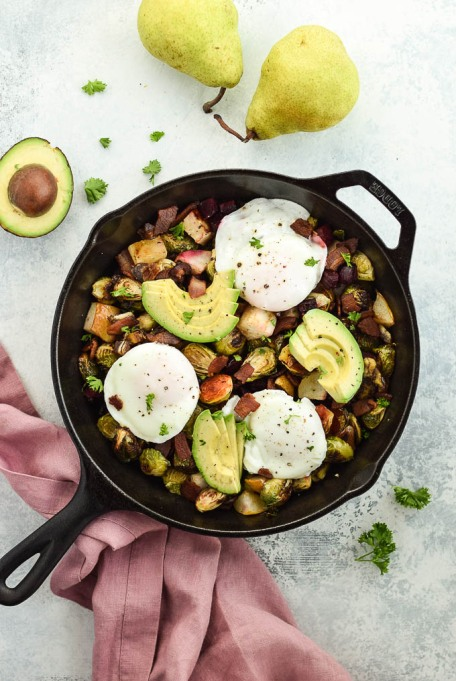 Fall veggie recipes: You'll want this Brussels sprouts hash with every breakfast