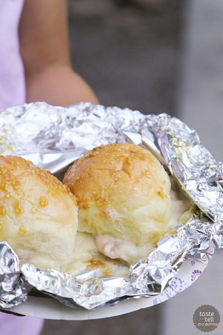 Ham & Cheese Campfire Sandwiches