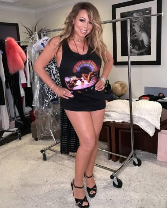 Celebrities celebrating Pride Month: Mariah Carey
