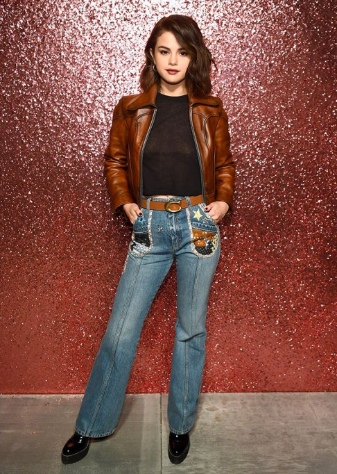 Celebrities Who Wore Wide Leg Jeans and Looked Damn Good | Selena Gomez