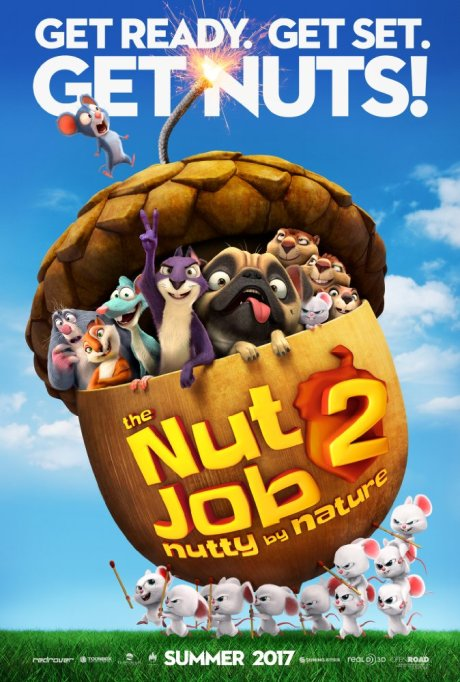 'The Nut Job 2: Nutty by Nature' movie poster