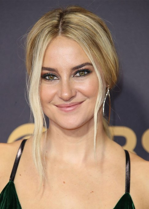 Best Celebrity Hair Transformations of 2017: Shailene Woodley with her blonde coif