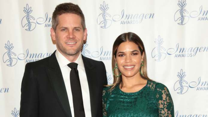 America Ferrera & Husband Ryan Piers