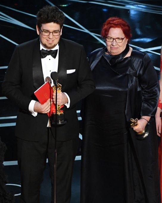 Kristof Deák and Anna Udvardy Oscars 2017
