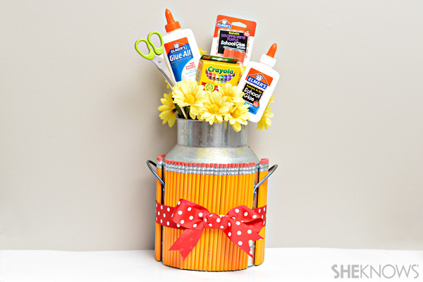 DIY School Supply Bouquet
