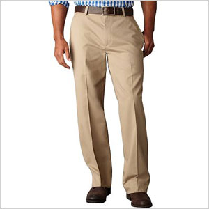Dockers flat-front pants