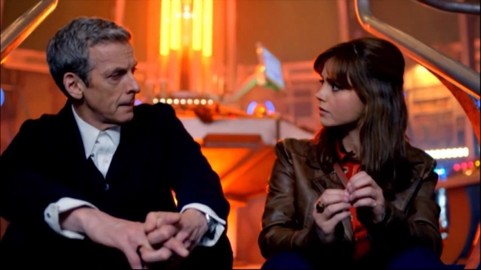 Doctor Who: Moffat pushes Clara/Doctor romance