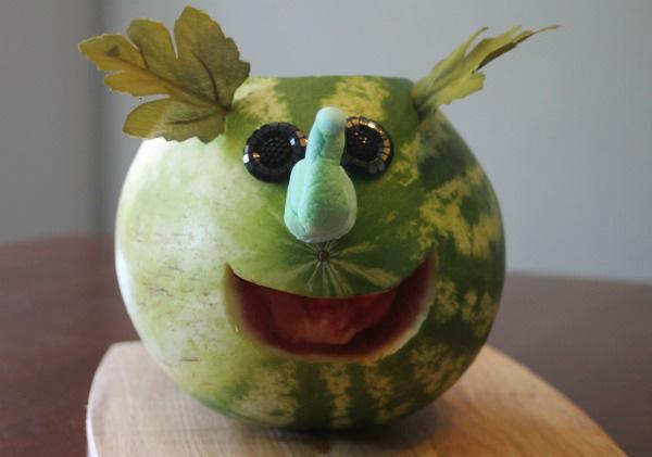 How to make a watermelon elephant