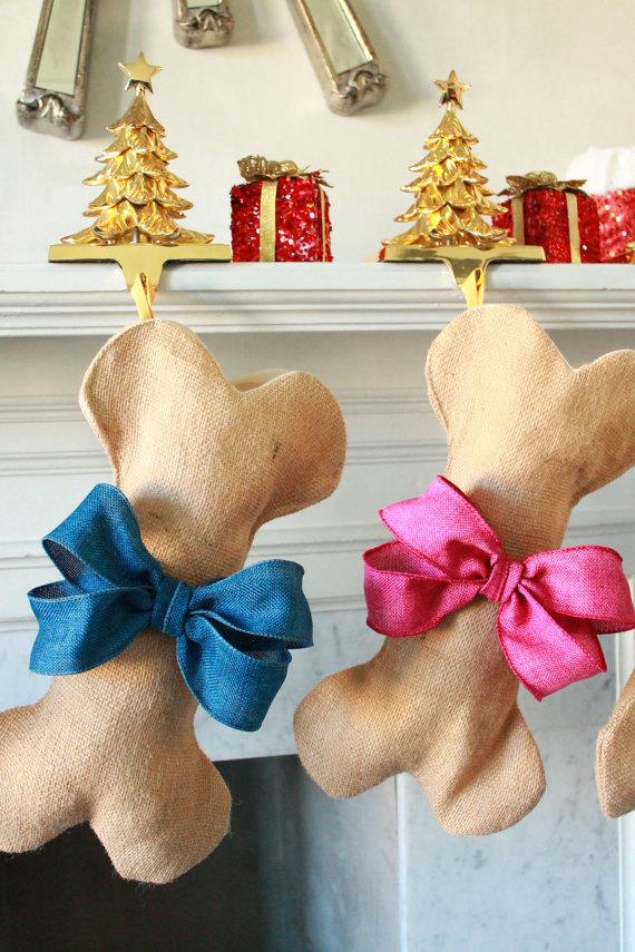 Dog bone stockings