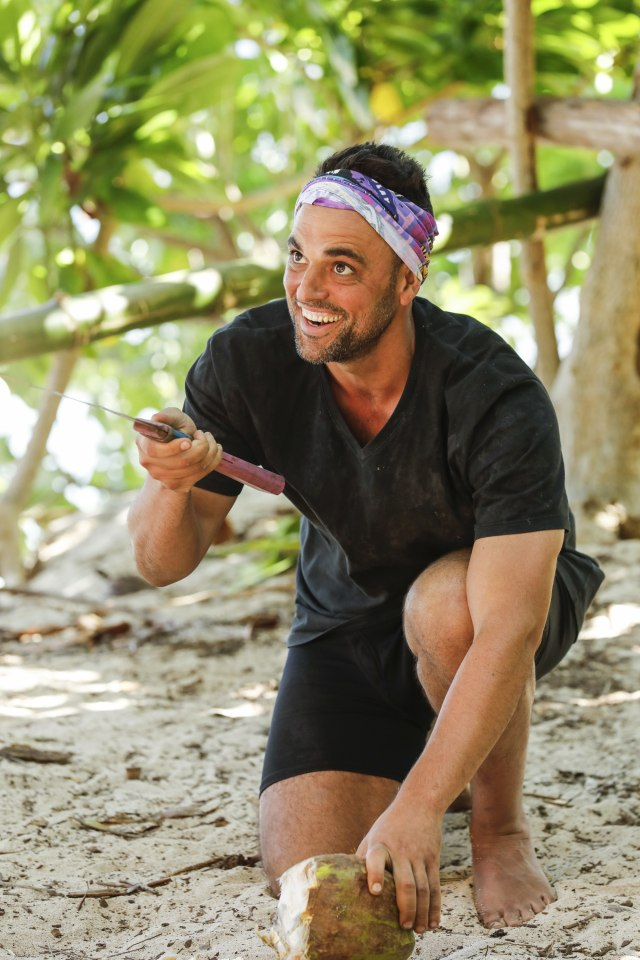 Domenick Abbate on Survivor: Ghost Island