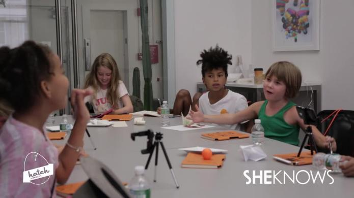 Watch Lauren Greenfield inspire our Hatchlings