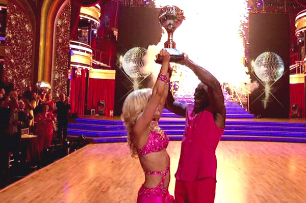Donald Driver wins Dancing With the STars
