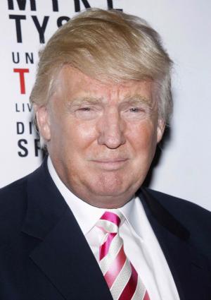Donald Trump at Broadway Opening Night