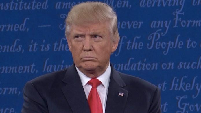 Hillary Clinton and Donald Trump go