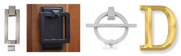 Stylish door knockers