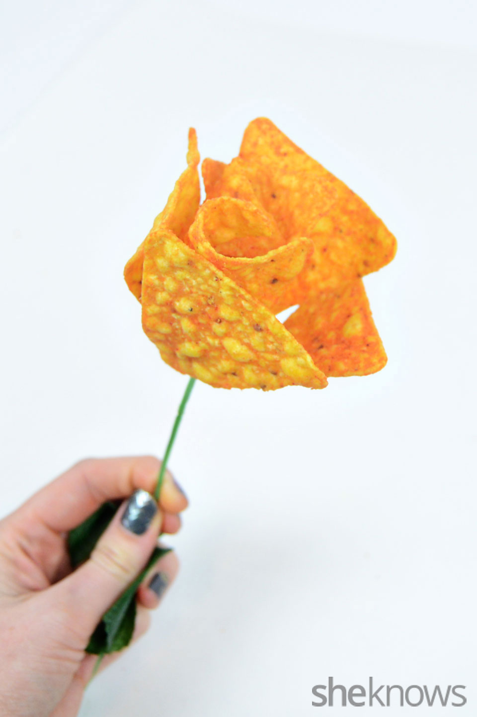 DIY Doritos Roses