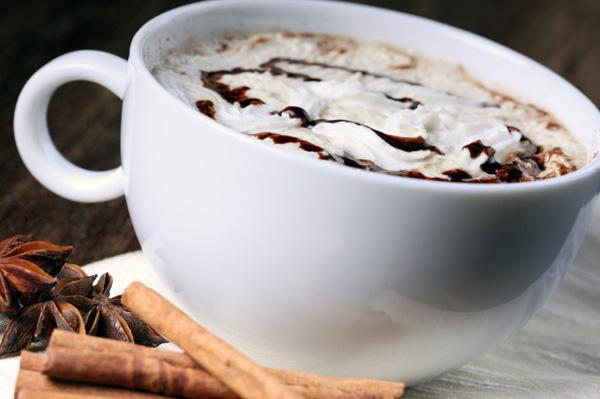 Double chocolate coffee