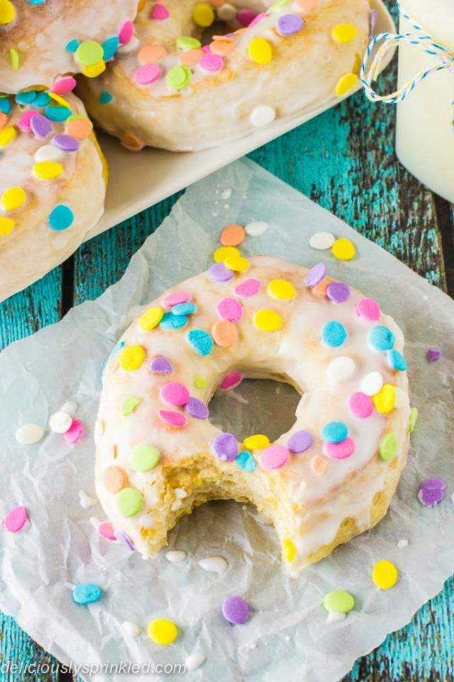 Easy bake doughnuts