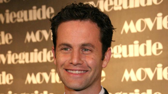Kirk Cameron proudly wears the Christian