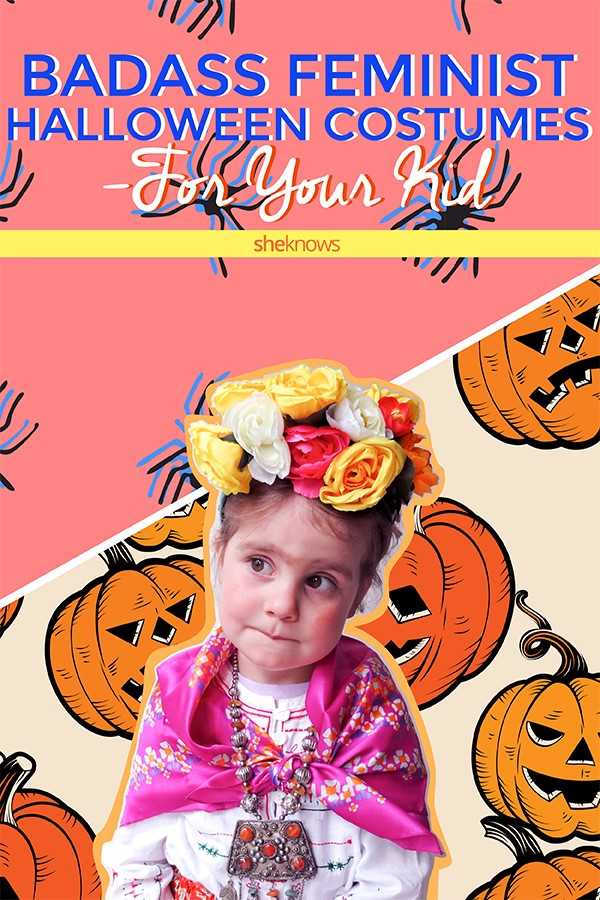Feminist Halloween Costumes for Kids