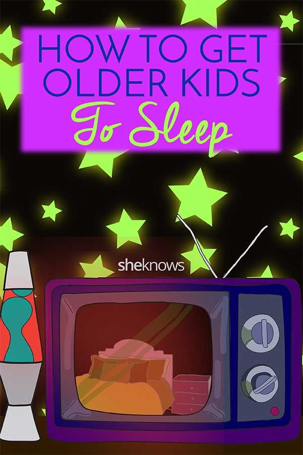 How to get older kids to sleep