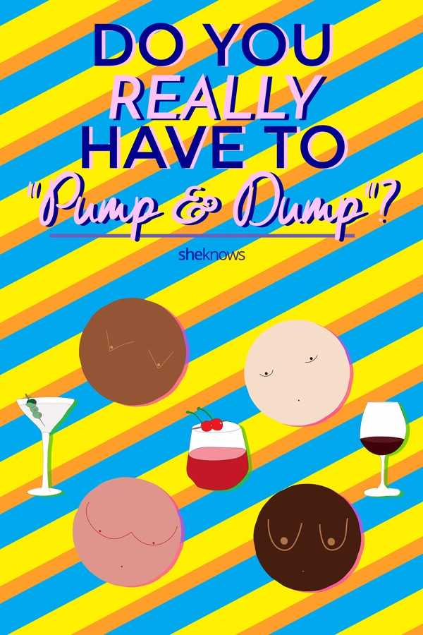 Do you really have to pump & dump? The truth about breastfeeding and drinking