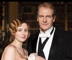 Downton Abbey's Edith and Anthony
