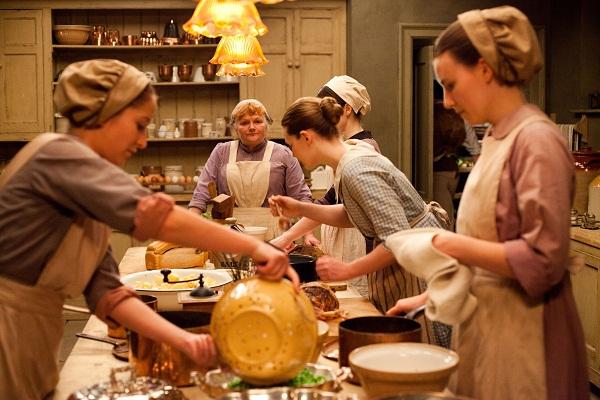 Downton Abbey's staff