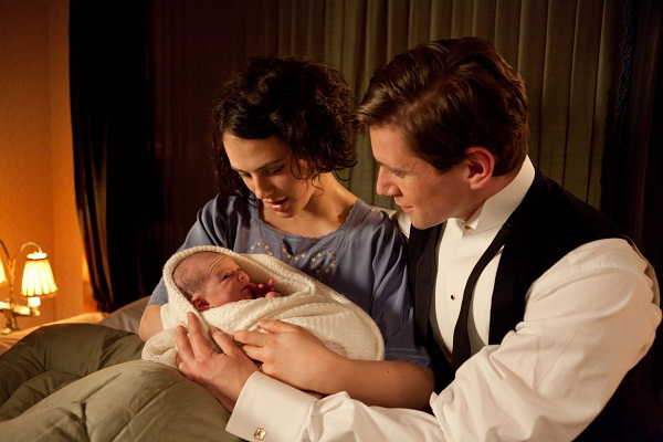 Downton Abbey recap Sybil, Branson and baby