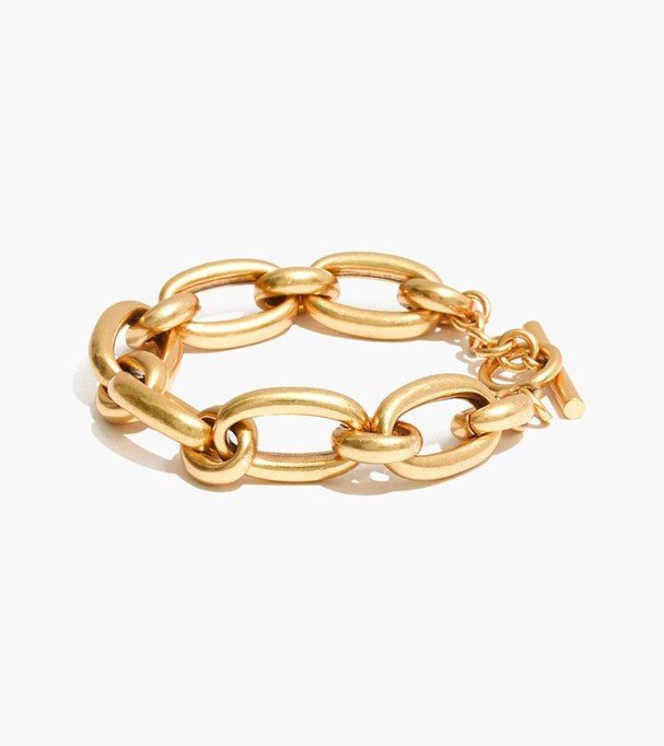 Chunky Jewelry Is Making a Comeback: Madewell Chunky Chain Bracelet | Fall Style 2017