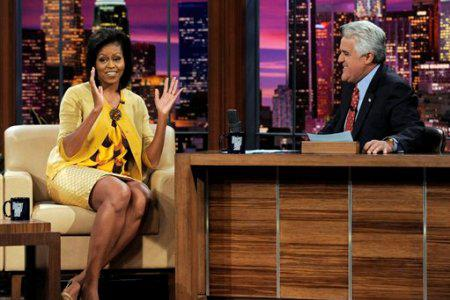 Michelle Obama to visit Jay Leno