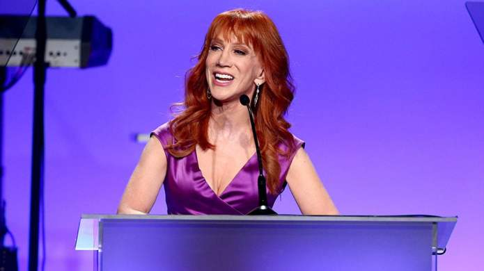 Here's Why Kathy Griffin Shaved Her