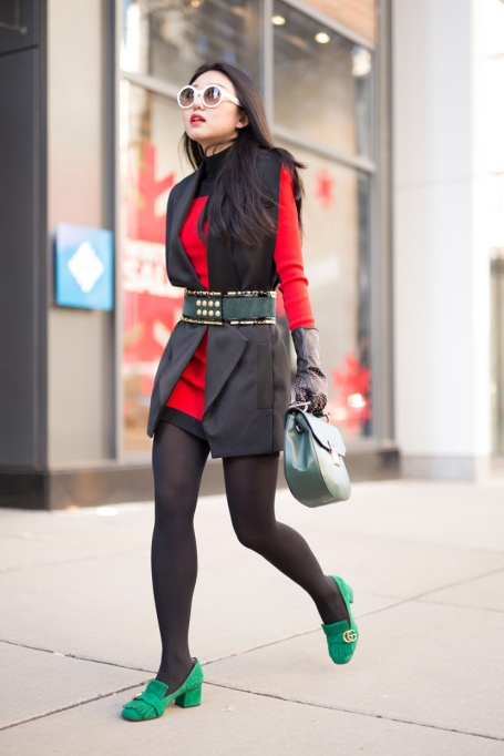 Holiday Outfit Color Combos | Red & Green