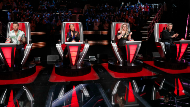 The Voice new chairs