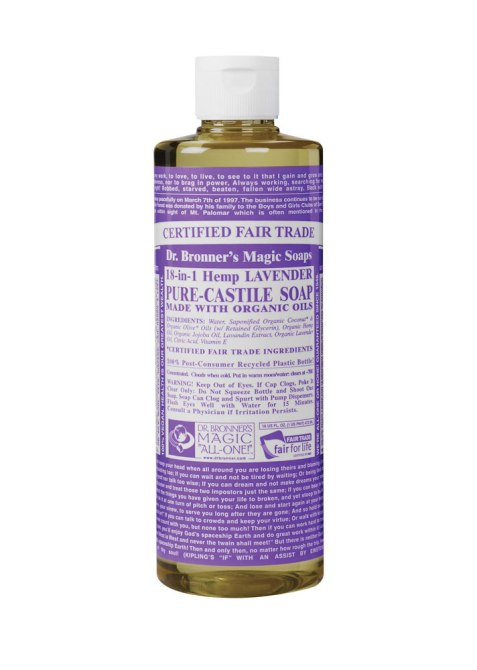 New way to clean makeup brushes | Dr. Bronner's Pure Castile Soap