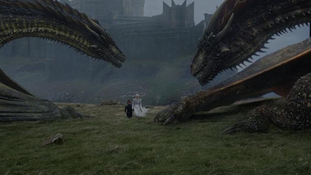 Dragons GoT S7E6