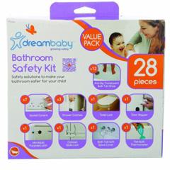 Dreambaby bathroom safety kit