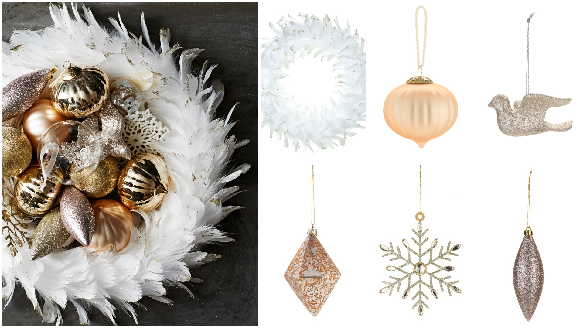 Go for modern and elegant decorations this Christmas