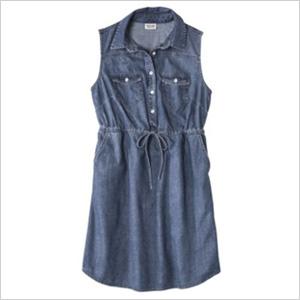 Denim dress from Target