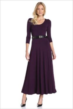 Calvin Klein Maxi Dress with Belt (Amazon, $71)