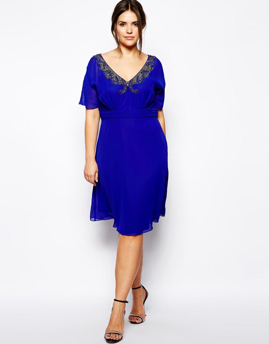 Royal blue dress for summer dress