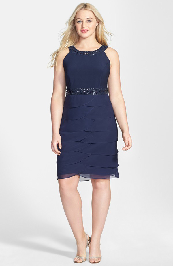 Fun and upscale dress for a summer wedding