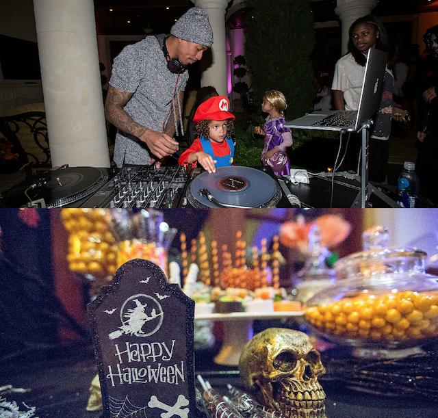 How celebs throw Halloween parties: Mariah Carey
