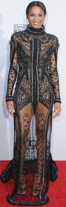 Ciara naked dress