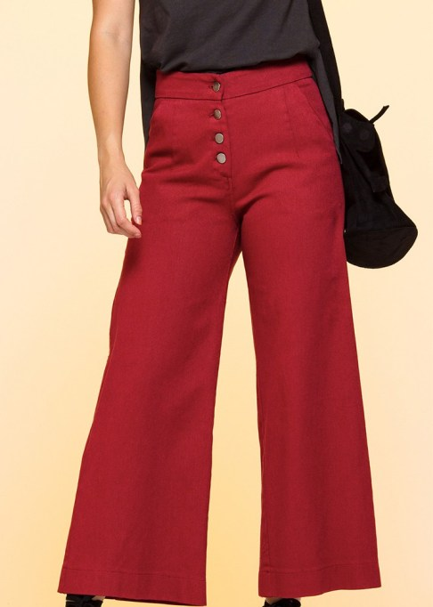Wide Leg Pants Are Making a Comeback: Loup Red Jeni Pants | Summer Style 2017