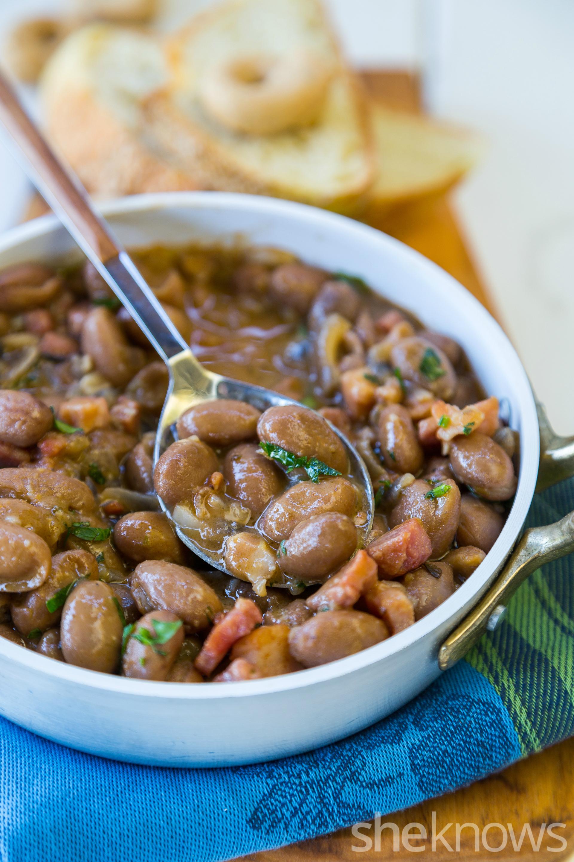 Drunken beans (frijoles borrachos) recipe